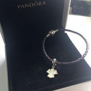 Pandora bracelet w/charm
